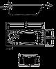 Ванна прямоугольная Roca Contesa 160x70 см A235960000, фото 3