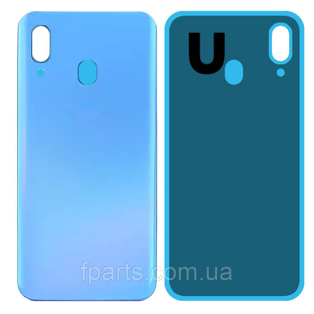 Задняя крышка Samsung A405 Galaxy A40, Blue (AAA)