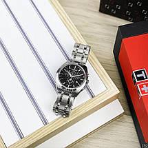 Наручные часы ААА класса Tissot T-Classic Couturier Chronograph Steel Alt Silver-Black, фото 3