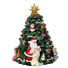 Статуэтка Lefard Новогодняя елка 16х11 см 16002-005 фигурка елочка керамика