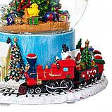 Снігова куля Lefard Різдвяна ялинка 17х16 см 16002-009, фото 2