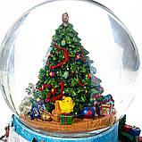 Снігова куля Lefard Різдвяна ялинка 17х16 см 16002-009, фото 3