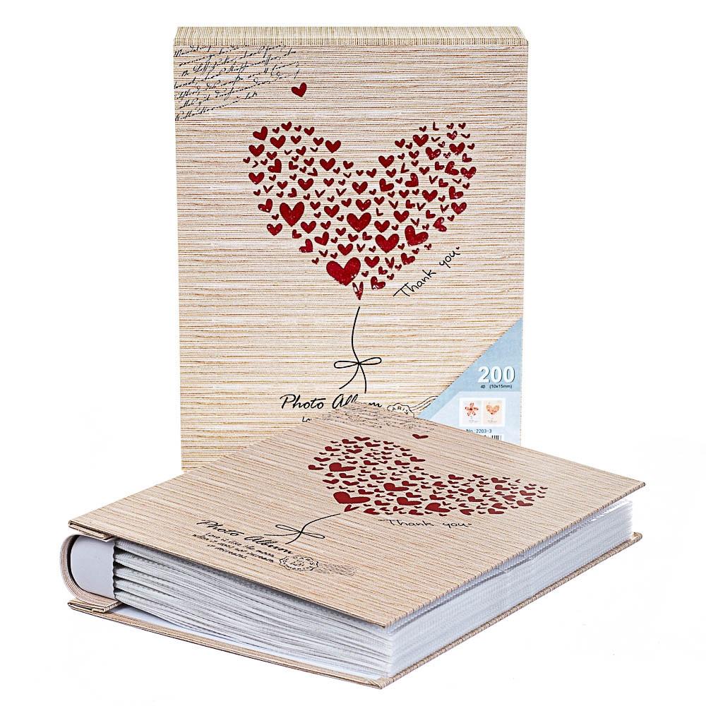 Фотоальбом Veronese Серце 200 фото 10х15 8140-022 альбом для фото для фотографій