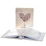 Фотоальбом Veronese Серце 200 фото 10х15 8140-022 альбом для фото для фотографій, фото 2