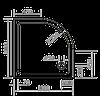 Душевые поддоны Eger Душевой поддон Eger SMC 100х100 см 599-1010R, фото 2