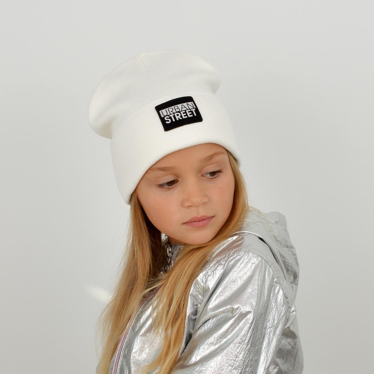 Шапка хлопковая К-1428 Белый