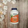 Now Foods Kelp 200 tab 150 mcg  , ( ламинария ) натуральный йод , поддержка щитовидной железы