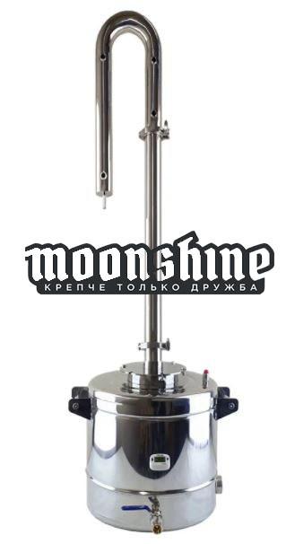"""Дистиллятор Moonshine Light кламп 1,5"""" с баком 37 литров"""
