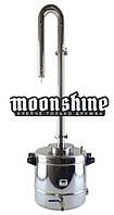 "Дистиллятор Moonshine Light кламп 1,5"" с баком 37 литров, фото 1"