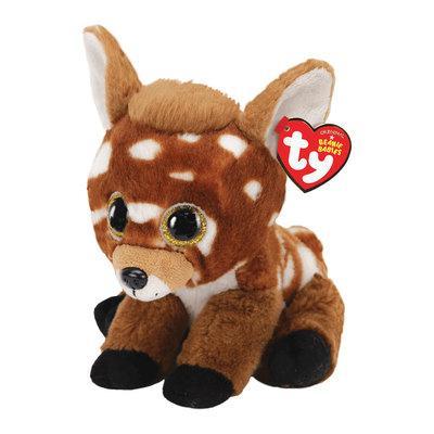 Мягкая игрушка олененок ty beanie babies 15см (70008)