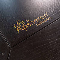 Логотип ЧПУ, лазерное нанесение и фрезеровка