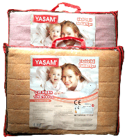 Электропростынь  Yasam електро простинь 120 x 160 Турция. Электро простынь, фото 1