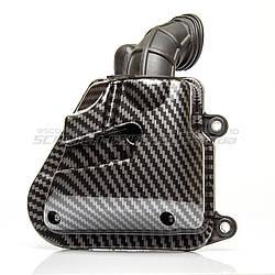 Фильтр воздушный в сборе карбон Minarelli Horizontal (MA, MY, CY)