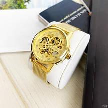 Оригінальні наручні годинники Skmei 9199 All Gold   Оригінал Скмей, Гарантія 1 рік!, фото 2