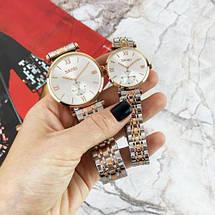 Оригинальные наручные часы Skmei 9198 Silver-Cuprum Big   Оригинал Скмей, Гарантия 1 год!, фото 3