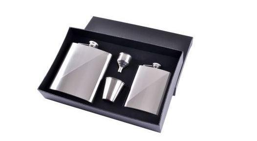 Подарочный набор фляга/лейка/ стопки №TZ-36-1