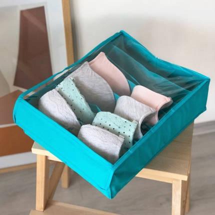 Коробочка для бюстиков с крышкой Лазурь, фото 2