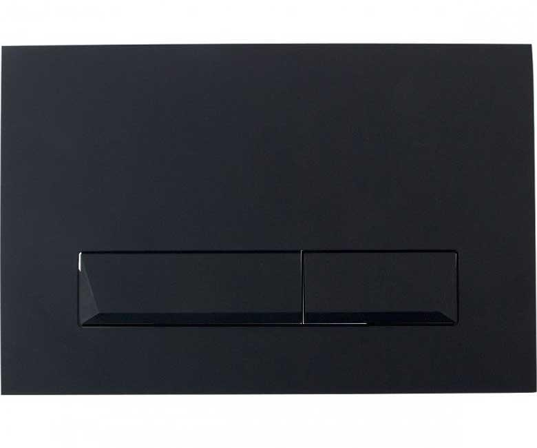 Клавиши смыва Imprese Клавиша смыва Imprese Pan Laska Black Soft Touch i8040B