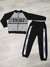Детский весенний спортивный костюм для мальчика 2-3 года, 92-98 см
