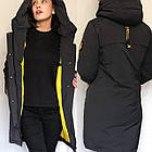 Куртки Пуховики Visdeer Баталов Жіночі Оптом Розміри 48-58 Фабричний Китай Опт, фото 4