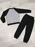 Детский весенний спортивный костюм для мальчика 2-3 года, 92-98 см, фото 3