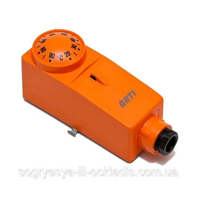 Термостат контакт. накл. регул. 20-90°C (б.ф.у, EU) настр. и поддерж. задан. темп, арт. 545610, к.з. 0089/2
