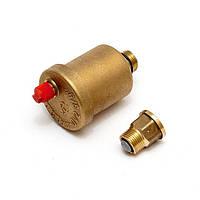 """Клапан автоматический воздушный, подсоединение 1/2 или 3/8 """", код сайта 0108"""