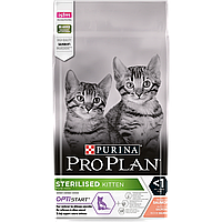 Purina Pro Plan Sterilised Kitten 1,5 кг корм для кошенят (09,21)
