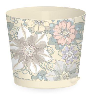 Горшок для цветов Easy Grow D 200 с прикорневым поливом 4 л, Цветочный дом