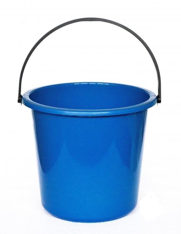 Відро господарське харчове 11л, синій