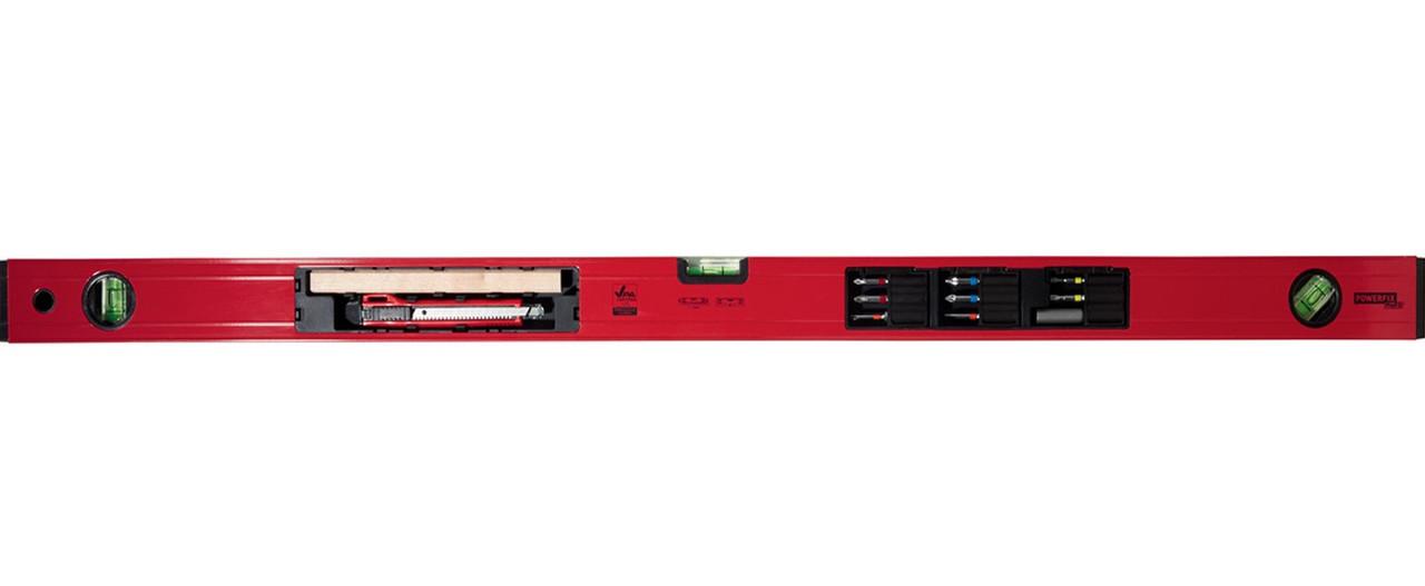 Рівень будівельний 5в1 Powerfix (9442)