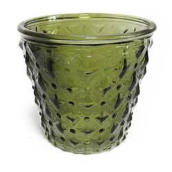 Подсвечник декоративный зеленый I-line 49152