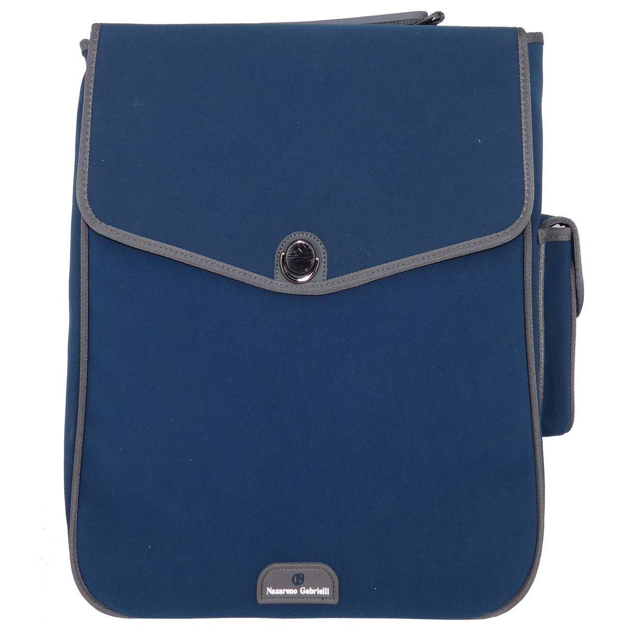 Рюкзак синій Nazareno Gabrielli 493