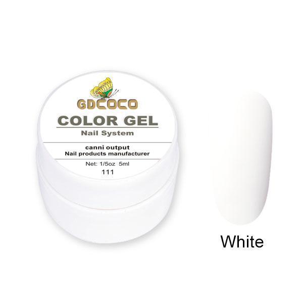 Гель-краска GDCoco Color Gel 111 Белый 5 ml