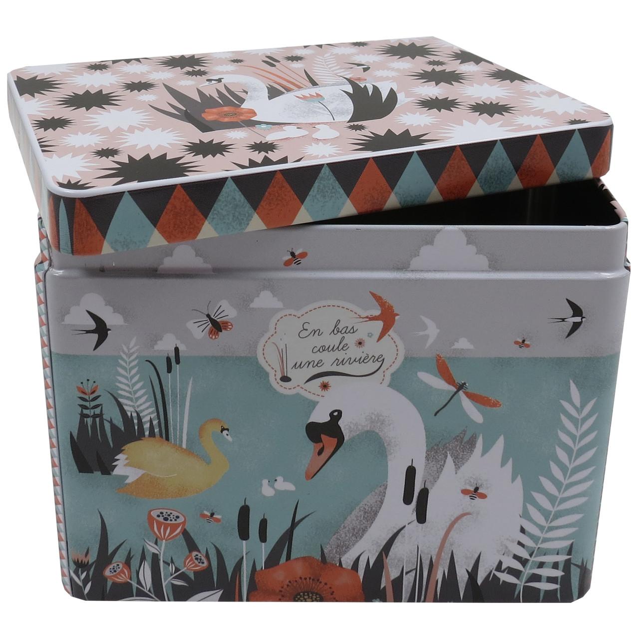 Коробка металлическая Melle Heloise 783
