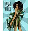 """Картина за номерами Ідейка """"Miami Beach"""" 40х50см, КНО4699"""
