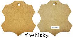 Кожа стелечная (подкладочная) воскованая цвет бежевый(Y whisky)