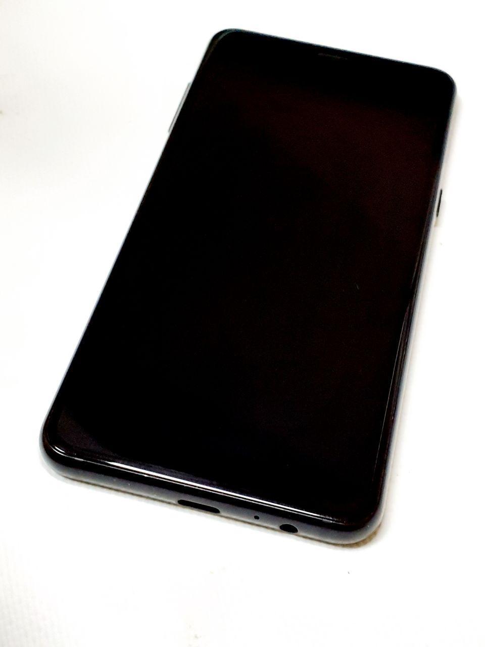 Модуль сенсор+дисплей черный  Samsung A530F Galaxy A8 (2018) оригинал б.у.