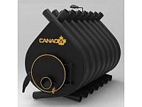 Печь дровяная для дома и дачи, отопительная, длительного горения, булерьян «Canada» classic «О5»