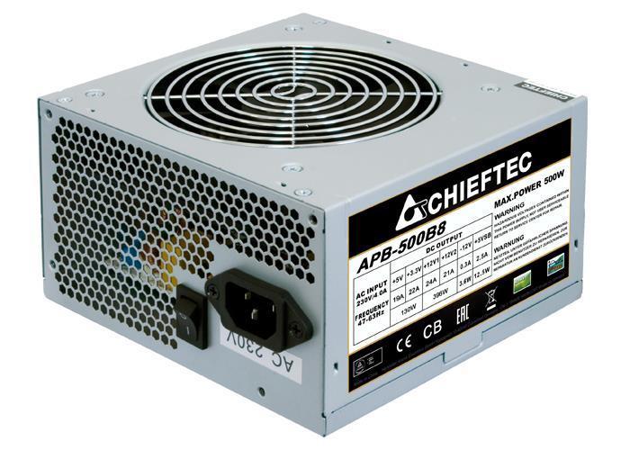 Блок питания Chieftec Value APB-500B8 500 Вт