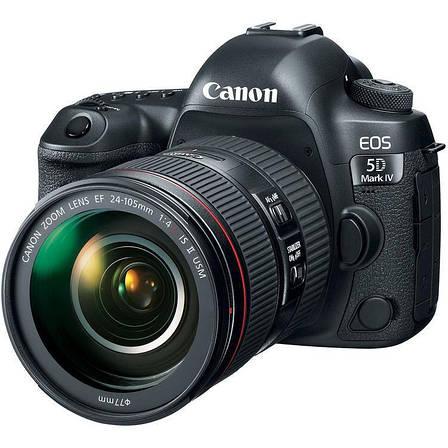Цифрова фотокамера дзеркальна Canon EOS 5D MKIV + об'єктив 24-105 L IS II USM (1483C030), фото 2