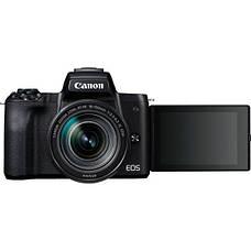 Цифрова фотокамера Canon EOS M50 + 18-150 IS STM Kit Black (2680C056), фото 2