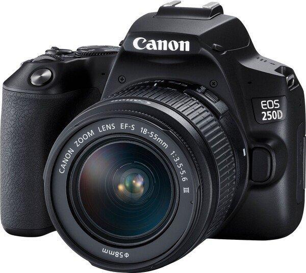 Цифровая фотокамера зеркальная Canon EOS 250D kit 18-55 DC III Black (3454C009)