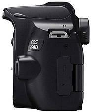 Цифровая фотокамера зеркальная Canon EOS 250D kit 18-55 DC III Black (3454C009), фото 2
