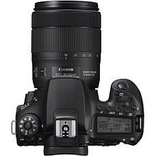 Цифрова фотокамера дзеркальна Canon EOS 90D + 18-135 IS nano USM (3616C029), фото 2