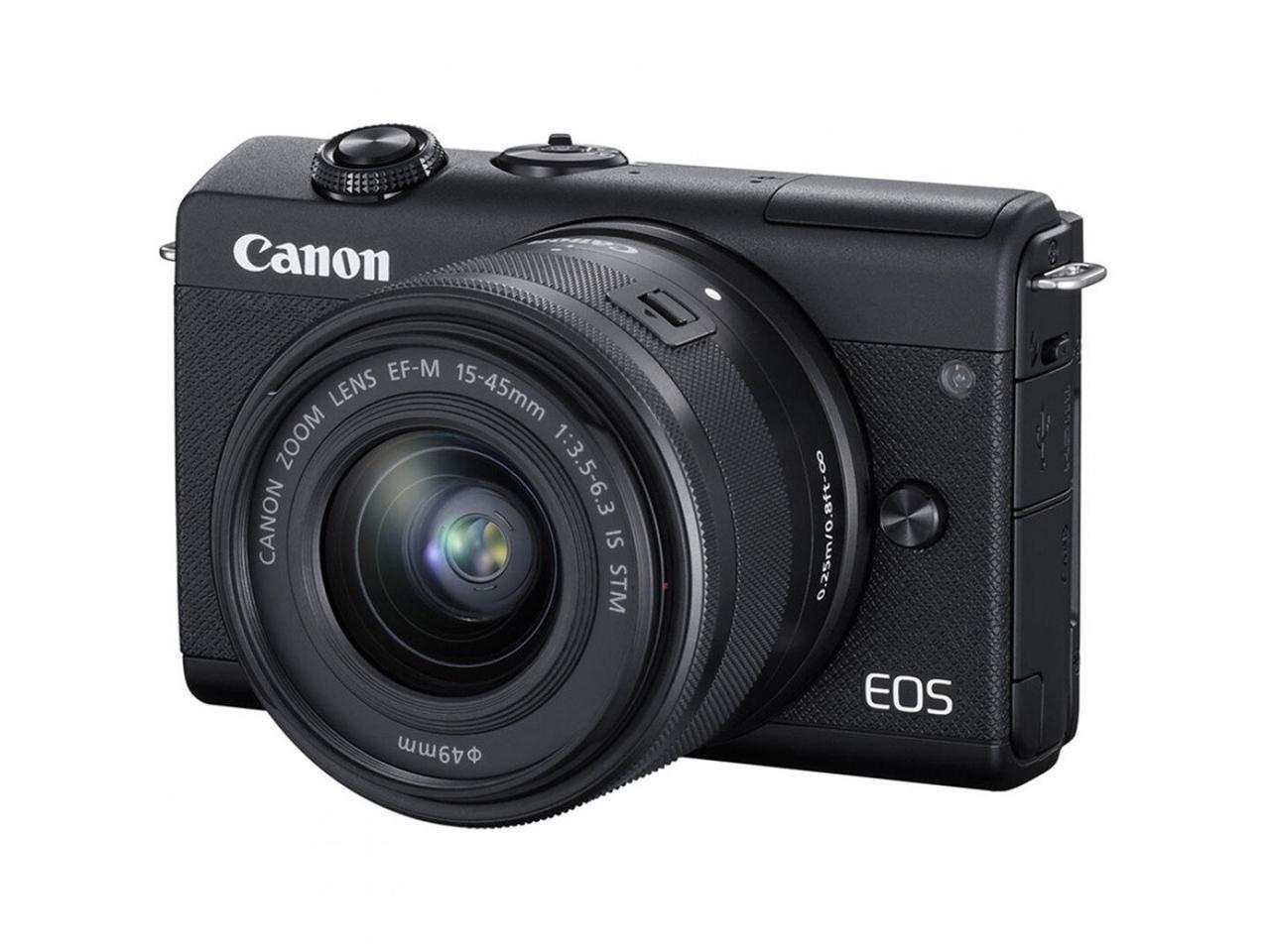 Цифрова фотокамера Canon EOS M200 + 15-45 IS STM Black (3699C027)