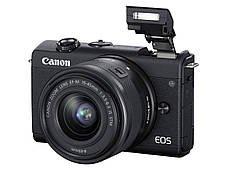 Цифрова фотокамера Canon EOS M200 + 15-45 IS STM Black (3699C027), фото 3