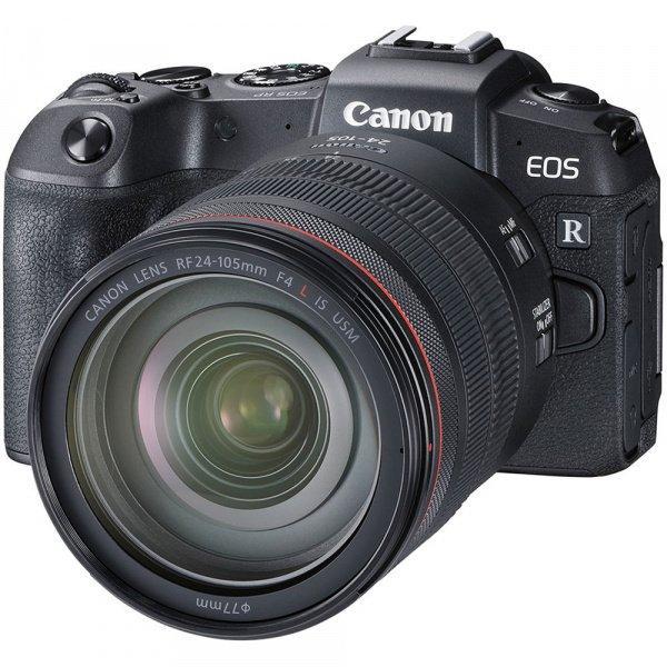 Цифровая фотокамера Canon EOS RP + RF 24-105L + адаптер EF-RF (3380C045)