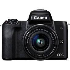 Цифровая фотокамера Canon EOS M50 + 15-45 IS STM + 55-200 IS STM Black (2680C054), фото 2
