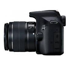 Цифрова фотокамера дзеркальна Canon EOS 2000D + 18-55 IS II + SB130 (2728C015), фото 3